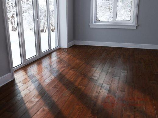 Паркетная доска Brand Wood, Гевея Red гладкая 1-но пол. фото №2