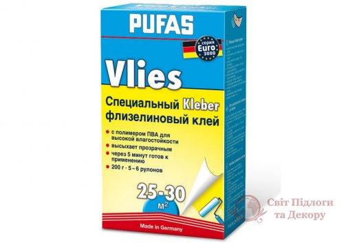 Клей для флизелиновых обоев Pufas (200 г) фото №1
