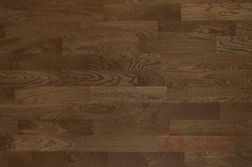 Паркетная доска Befag, Дуб Robust темно-коричневый 3-х пол. фото №1