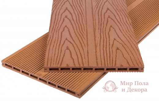 Террасная доска Polymer Wood, колл. Privat профиль Мербау фото №1