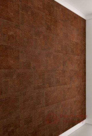 Пробковые стены Wicanders, колл. Dekwall, Malta Chestnut арт. RY1L001 фото №3
