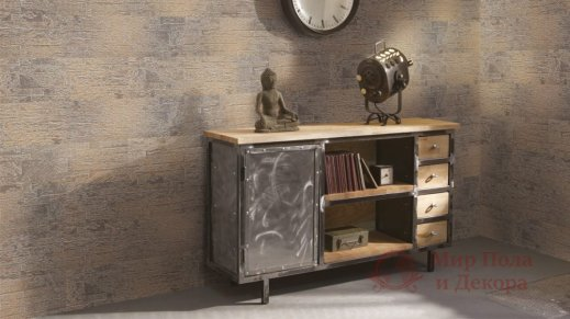 Пробковые стены Wicanders, колл. Brick, Rusty Grey арт. RY4W001 фото №2