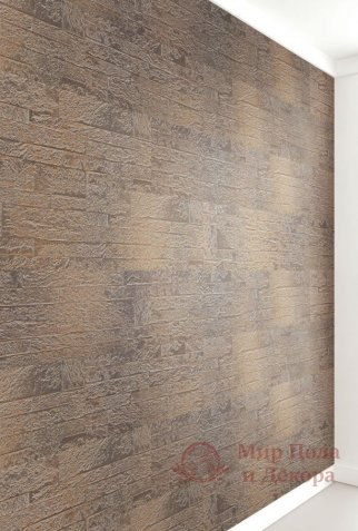 Пробковые стены Wicanders, колл. Brick, Rusty Grey арт. RY4W001 фото №3