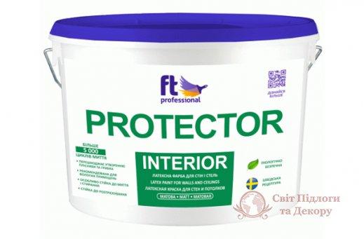 Краска влагостойкая Ft professional PROTECTOR INTERIOR (10 л) фото №1