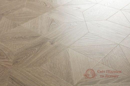 Ламинат Quick Step, колл. Impressive patterns, Дуб серый теплый браш. IPA4141 фото №2