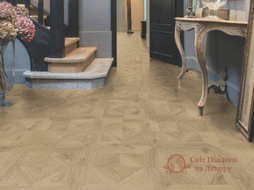 Ламинат Quick Step, колл. Impressive patterns, Дуб песочный браш. IPA4142 фото №3