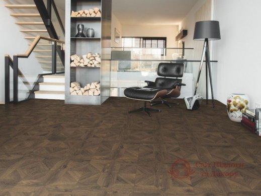 Ламинат Quick Step, колл. Impressive patterns, Дуб кофейный браш. IPA4145 фото №3