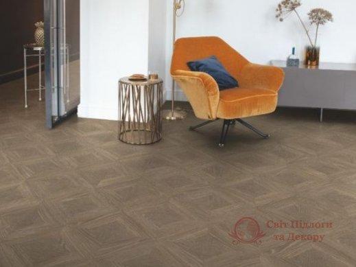 Ламинат Quick Step, колл. Impressive patterns, Дуб палаццо коричневый IPE4504 фото №3
