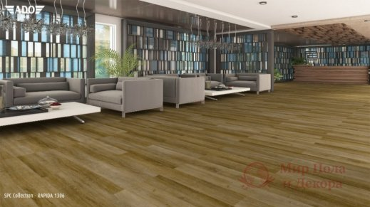 Виниловая плитка SPC Ado Floor Fortika, Rapida 1306 фото №2