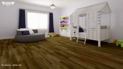 Виниловая плитка SPC Ado Floor Fortika, Rapida 1306 фото №3