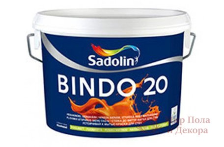 Краска матовая Sadolin BINDO 20 (10 л) фото №1