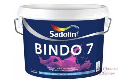 Краска моющаяся Sadolin BINDO 7 (5 л) фото №1
