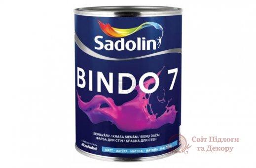 Краска моющаяся Sadolin BINDO 7 (2,5 л) фото №1
