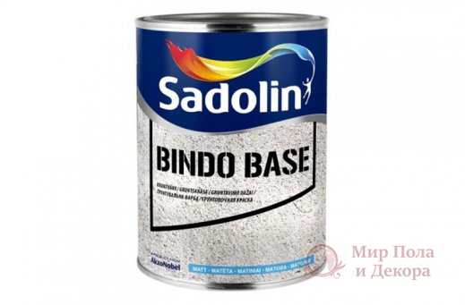 Краска водорастворимая Sadolin BINDO BASE (1 л) фото №1