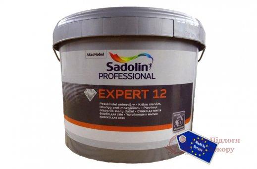 Краска полуматовая Sadolin EXPERT 12 (10 л) фото №1