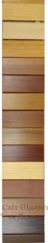 Плинтус деревянный шпонированный Tecnorivest 80x16 фото №1
