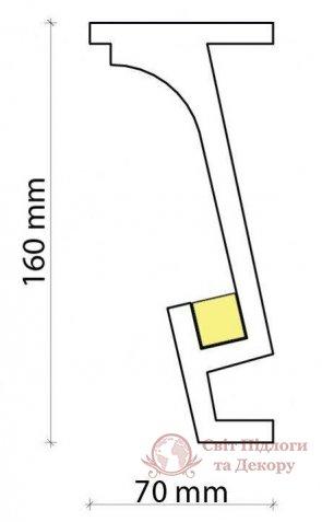 Карниз Tesori арт. KF 804 фото №1