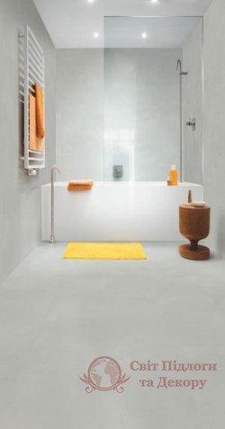 Виниловый пол Quick-Step Ambient Glue Plus, Минимальный светло-серый AMGP40139 фото №3