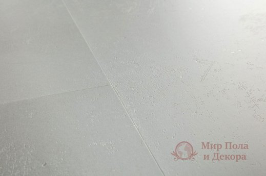 Виниловый пол Quick-Step Ambient Glue Plus, Минимальный светло-серый AMGP40139 фото №2
