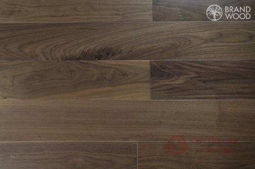 Паркетная доска Brand Wood, Орех Селект 160 мм фото №1