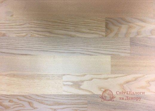 Паркетная доска WoodPecker, Ясень White 3-х пол. фото №1